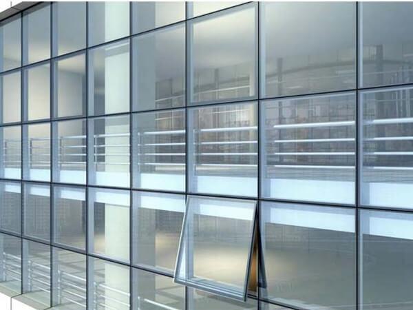 Aluminium Curtain Wall System Aluminum Sliding Window