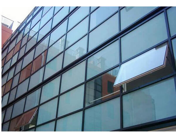 Aluminium curtain wall system aluminum sliding window for Window wall