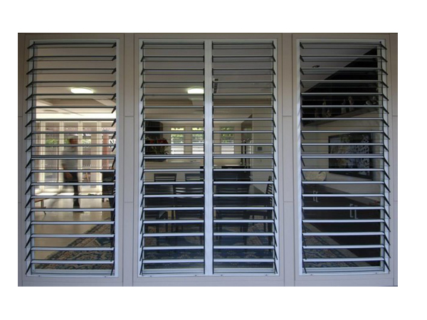 Glass Louvers With Aluminum Frame Hot Sale