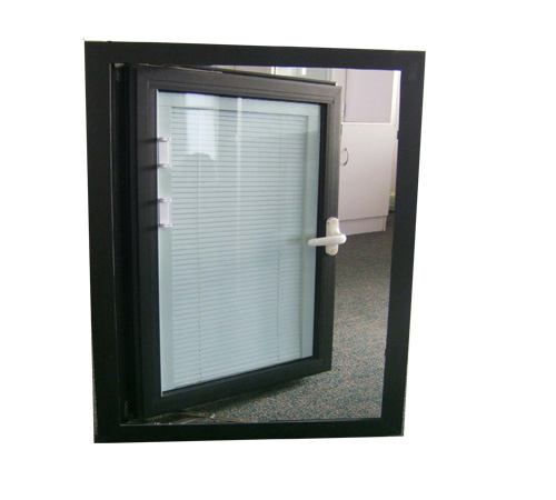 Aluminum Windows With Built In Blinds Or Shutters